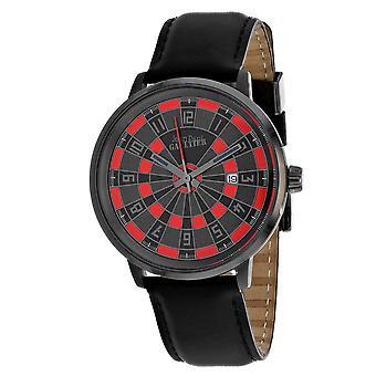 Jean Paul Gaultier Men's Cible Black / Red Dial Watch - 8504803