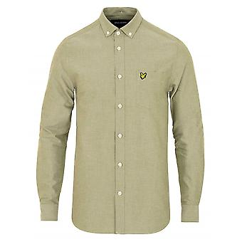 Lyle & Scott Lyle & Scott White Kortärmad Oxford skjorta