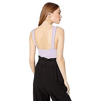 ASTR the label Women's Nouveau Sleeveless Stretch Sweetheart, Lilac, Size Small
