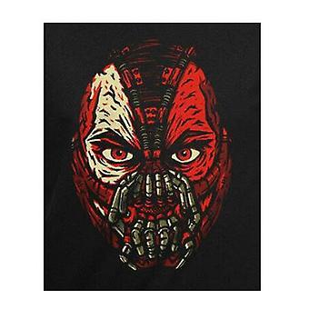 Batman Unisex aikuisten tumma Knight Bane Face T-paita