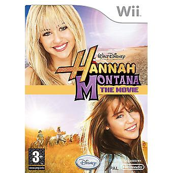 Hannah Montana The Movie Game Wii Game