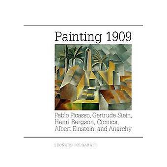Painting 1909 by Leonard Folgarait