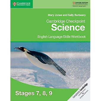 Cambridge Checkpoint Science English Language Skills Workboo by Sally Blurbeary