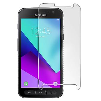 Muvit Tempered Glass Screen Protector Galaxy Xcover 4 /4S Beveled Contours Black