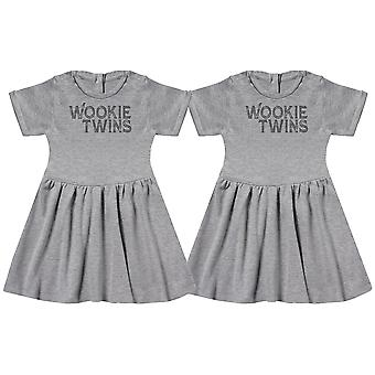 Wookie Twins Baby Dress Twins, Baby Girl Twins, Baby Gift