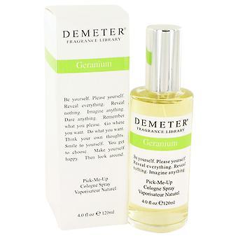 Demeter by Demeter Geranium Cologne Spray 4 oz / 120 ml (Women)