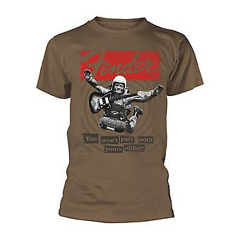 Fender Electric Guitar Skydive offisiell T-skjorte