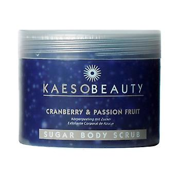 Kaeso Sugar Body Scrub - Cranberry & Passion Fruit