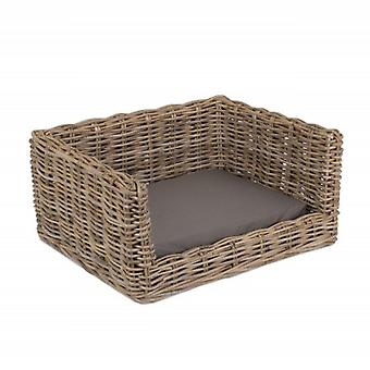Small Luxury Rattan Dog Sofa Bed