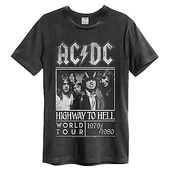 Versterkte AC / DC Highway To Hell Poster Mens T-shirt