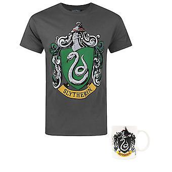 Harry Potter Slytherin Crest Miesten & Apos;
