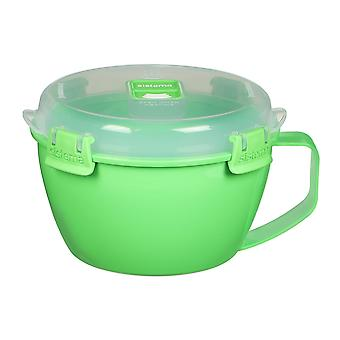 Sistema Klip It Microwave Noodle Bowl, 940ml, Green