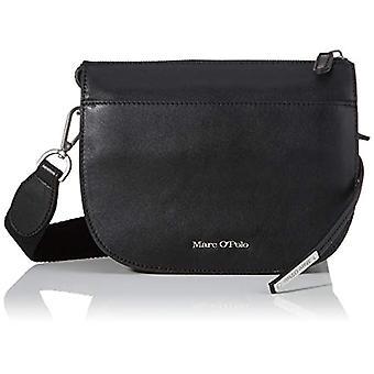 Marc O'Polo 90818340701108 Black Woman shoulder bag (black 990)) 8x18x23 cm (B x H x T)