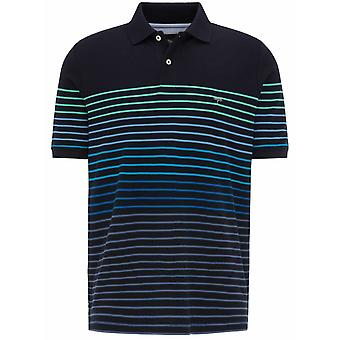 FYNCH HATTON Fynch Hatton Short Sleeve Stripe Polo