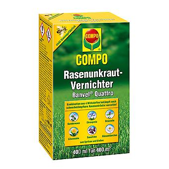 COMPO Lawn Weed Killer Banvel® Quattro, 400 ml