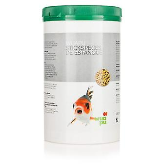 Wuapu Fish Sticks of Pond 1L (130Gr) (Fish , Ponds , Food for Pond Fish)