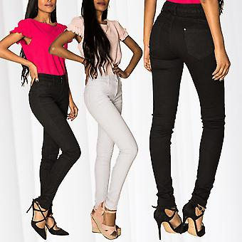 Women's Push Up High Waist Jeans Jeggings Stretch Skinny Treggings Shaping