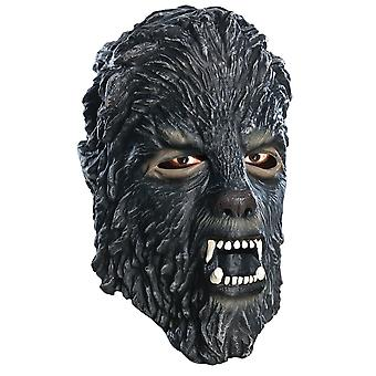 Latex Wolfman Adult Mask