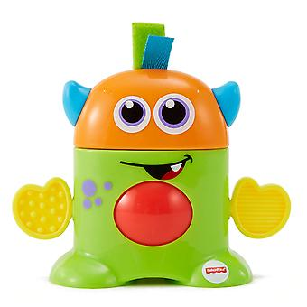 Fisher Price Tote-Along Monster Harvey Green/Orange