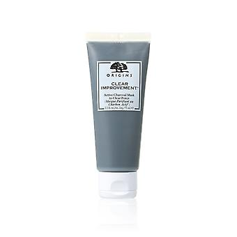 Origins Clear Improvement Active Charcoal Mask To Clear Pores 75ml/2.5oz