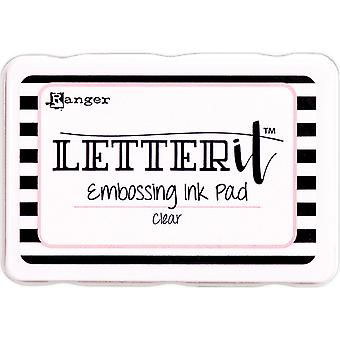 Ranger Letter It Embossing Ink Pad -