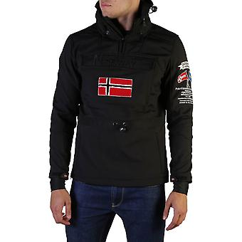 Geographical Norway Original Men Fall/Winter Jacket - Black Color 36538