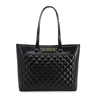 Love Moschino Original Women Fall/Winter Shopping Bag - Black Color 37083
