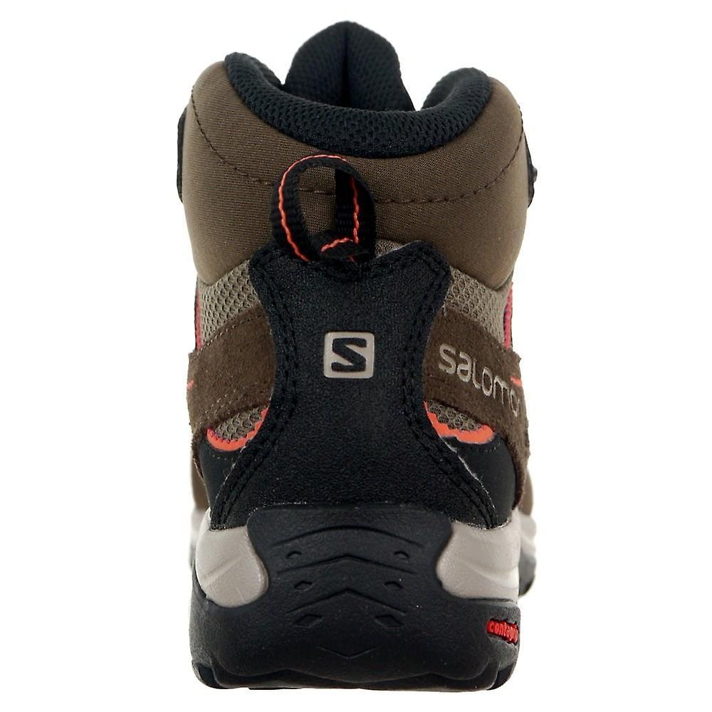 Salomon Ellipse 2 Mid Leather Goretex 400020 Trekking Vinter Kvinner Sko