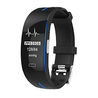 P3 activity wristband with PPG and ECG-Blue