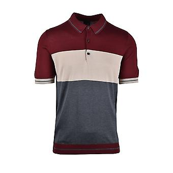 Pal Zileri LAB Pal Zileri Lab Knitted Polo Shirt Brown