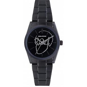 Zadig & Voltaire ZVT007 watch - watch steel black dial black woman