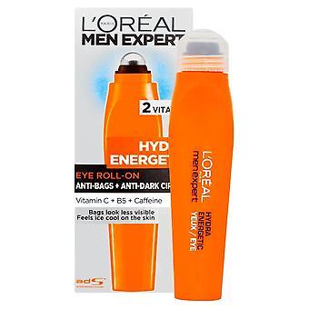 LOreal Men Expert Hydra Energetic Cooling Eye Roll-On 10ml