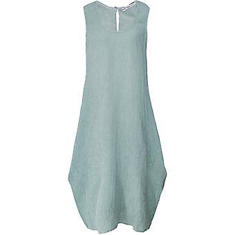 Платье без рукавов креп Italia белья голубики