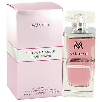 Victor manuelle miami eau de parfum spray by victor manuelle 517623 100 ml