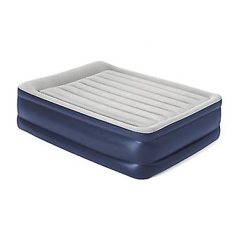 New Hi-Gear High Rise Flock King Size Airbed Navy