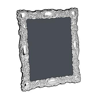 Orton West Extra Extra Large Detailed Photo Frame 8x10 - Silver
