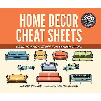 Home Decor Cheat Sheets by Jessica Probus