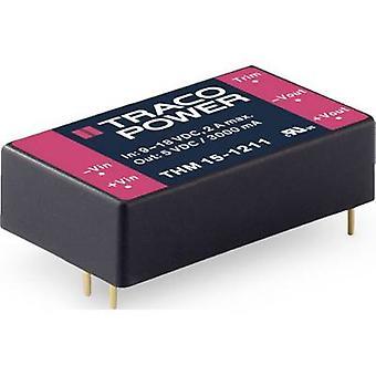 TracoPower THM 15 DC/DC-konverter (print) 625 mA 15 W Nr. af udgange: 1 x