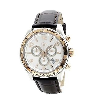 Guess Collection X51005G1S Chronograph Quartz with Leather Strap Men's Watch