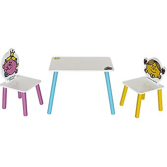 Kiddi Style Little Miss Table With Two Chairs