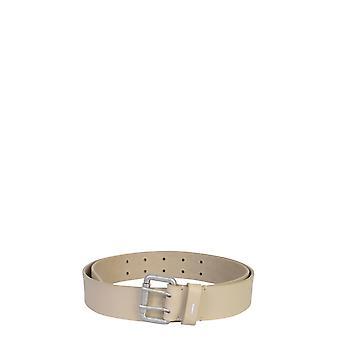 Maison Margiela S55tp0119p0180t2230 Men's Beige Leather Belt