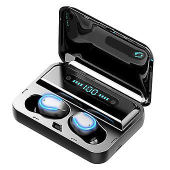 Fones de ouvido Bluetooth TWS, F9-5 - Preto
