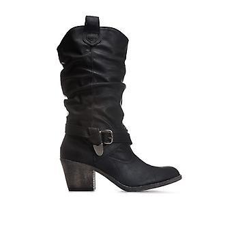 Women's Rocket Dog Sidestep Lewis Boots in Black