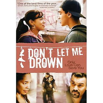 Don't Let Me Drown [DVD] USA import
