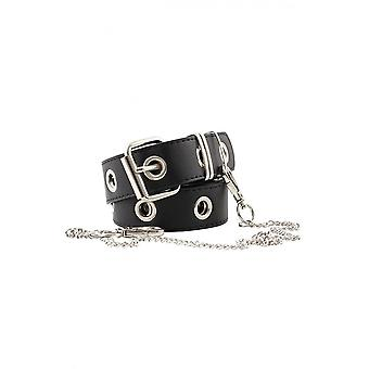 Attitude Clothing 1 Row Grommet & Chain Belt
