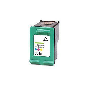 ل HP 351XL خرطوشة الحبر ثلاثية الألوان متوافق مع استبدال روديتوس مع Photosmart C4200، C4205، C4210، C4240، C4250، C4270، C4272، C4273، C4275، C4280، C4283، C4285، C4293، C4294، C4340، C4342، C4