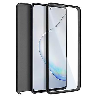 Cover Samsung Galaxy Note 10 Lite Hard Back + Soft Front Protection Black