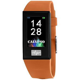 Calypso Unisex | Smartime | Orange Silikonband + Free Strap K8500/3 Uhr