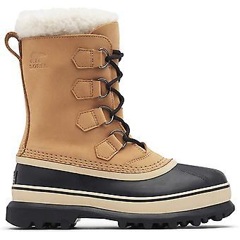 Sorel Womens Caribou Rubber Almond Toe Mid-Calf Fashion Boots