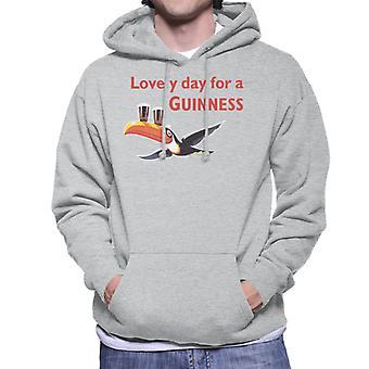 Lovely Day For A Guinness Men's Hooded Sweatshirt